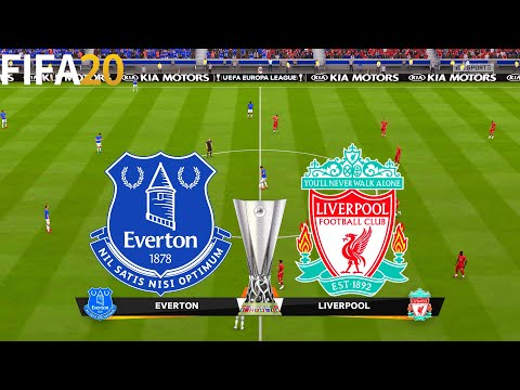 FIFA 20 | Everton vs Liverpool - UEFA Europa League - Full Match & Gameplay