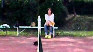 千本松牧場のテニス.