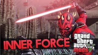 GTA 5 Mod Showcase - STARWARS Inner Force Mod! LIFT ANYTHING! (GTA 5 Mods)