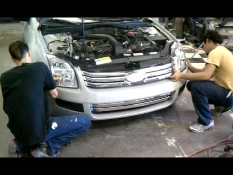 FORD FUSION BUMPER.3gp - YouTube