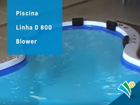 Hidro E Blower Piscina De Fibra Youtube