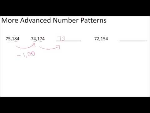 Fourth Grade Unit 1 Place Value Advanced Number Patterns - YouTube - place value unit