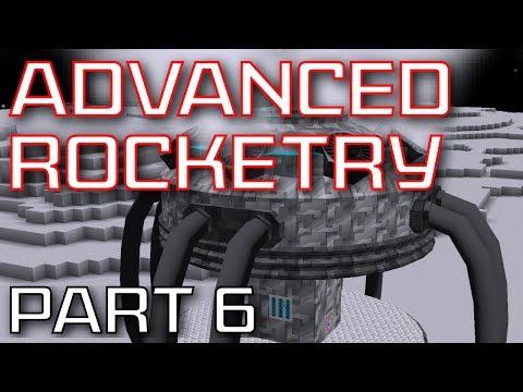 Advanced Rocketry Mod Spotlight - Part 6: Railgun, Terraforming, Ore Scanner, and more