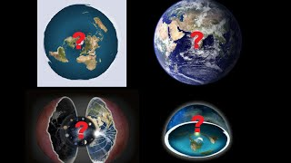 What does the bible say the Earth looks like? Concave, Hollow, Globe or Flat?