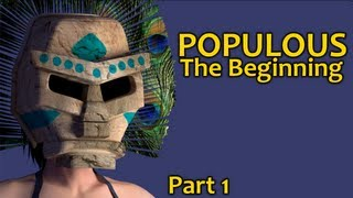 Populous: The Beginning Walkthrough - Part 1 [Longplay]