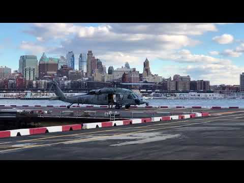 Wall St helipad tailwheel accident