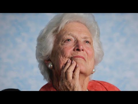First lady Barbara Bush laid to rest