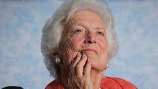First lady Barbara Bush laid to rest