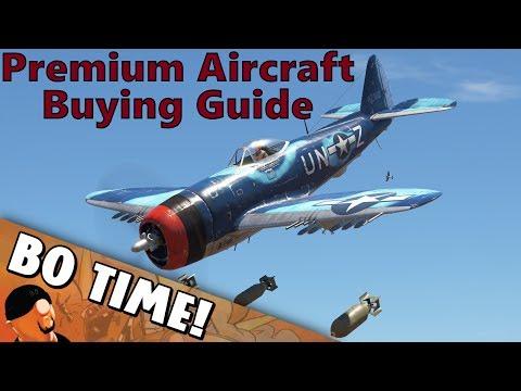 War Thunder - Premium Aircraft Buying Guide