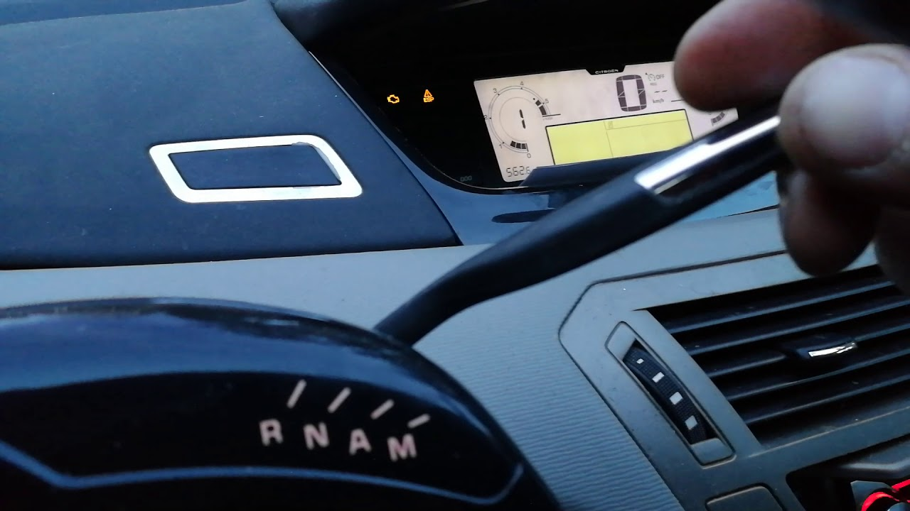 Citroen C4 Picasso 1 6hdi - Egs System Faulty