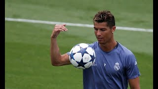 Cristiano Ronaldo ● Freestyle & Crazy Tricks 2018