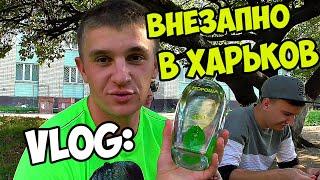VLOG: ВНЕЗАПНО В ХАРЬКОВ! ВЕСЕЛЫЙ ФОМА! / Виталий Зеленый