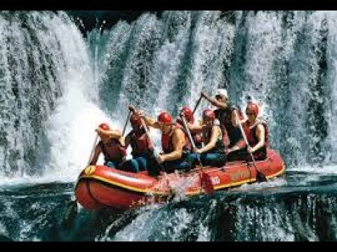 World's Highest Commercially Rafted Waterfall - Careful