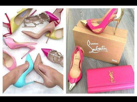 Zapatos de tacón de marca,de Moda | Fashion Heels: Jimmy Choo, Christian Louboutin, Valentino, YSL