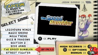 The Speed Rumbler: Capcom Classics Collection Remixed [Normal] PSP - 103,700