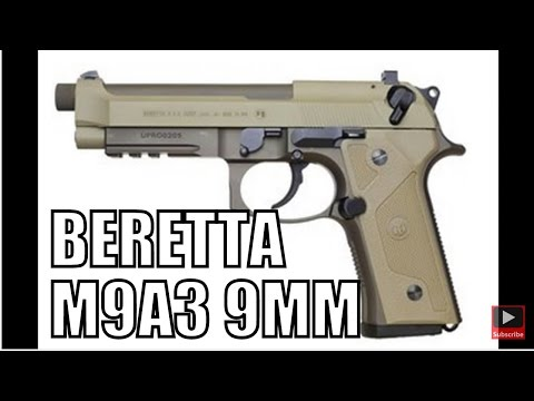 JUST ANNOUNCED Beretta M9A3 DOD US Army Contract 9mm Semi Auto Pistol Overview   New World Ordnance