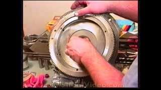 VW Engine Building: Assemble Short Block Part 2, oil pump, end play, Type 1