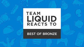 League of Legends - Team Liquid Reacts To: Bronze Plays - Xpecial, Fenix, & Peter