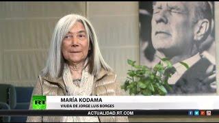 Entrevista con María Kodama, viuda de Jorge Luis Borges