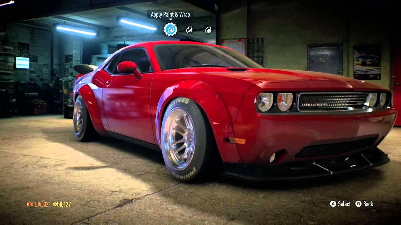 Need For Sd 2017 Dodge Challenger Drift Build