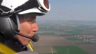 Gyrocopterflug über Hildesheim