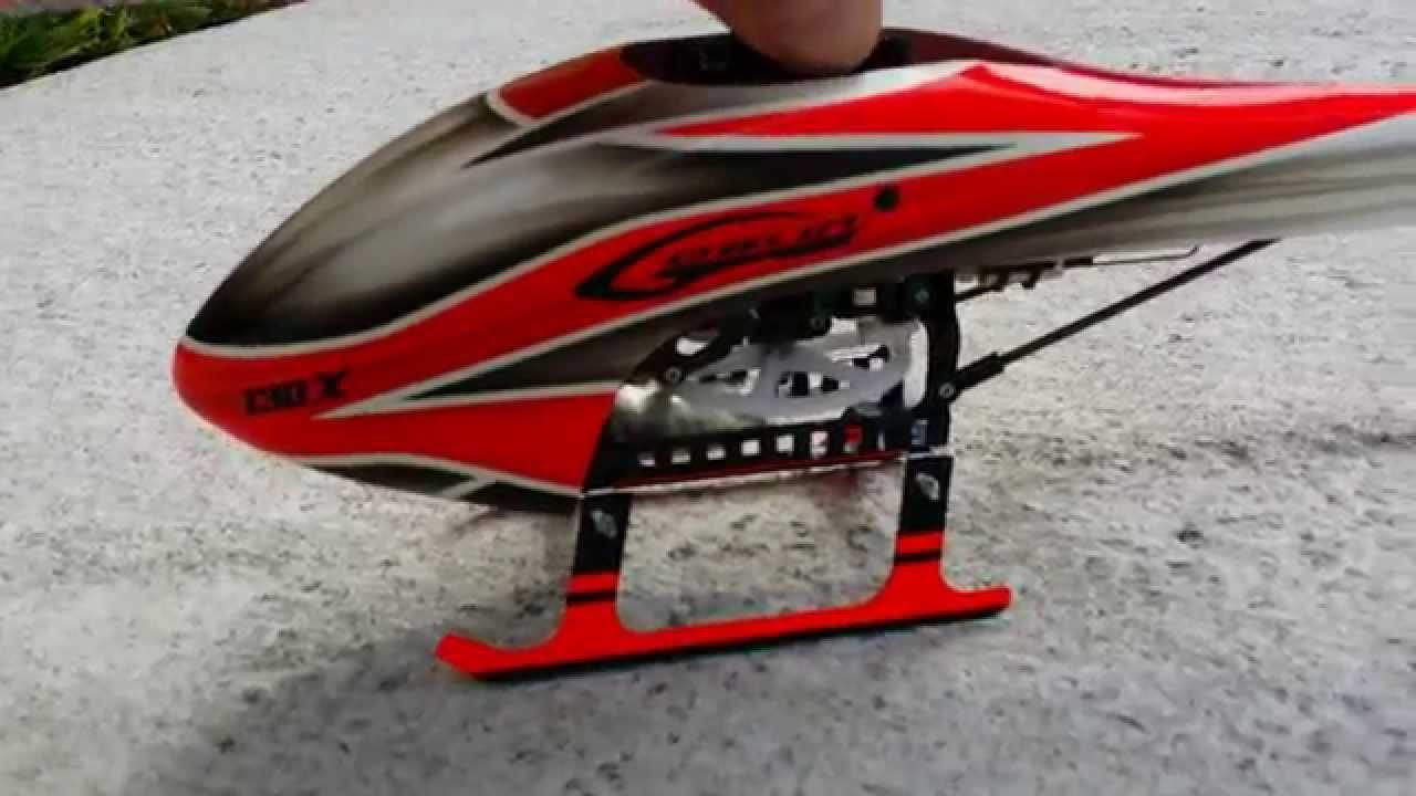 Fusuno Blade 130X Goblin Canopy & Fusuno Blade 130X Goblin Canopy - YouTube