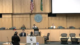 Seattle City Council Planning, Land Use & Zoning Committee Public Hearing 9/9/19