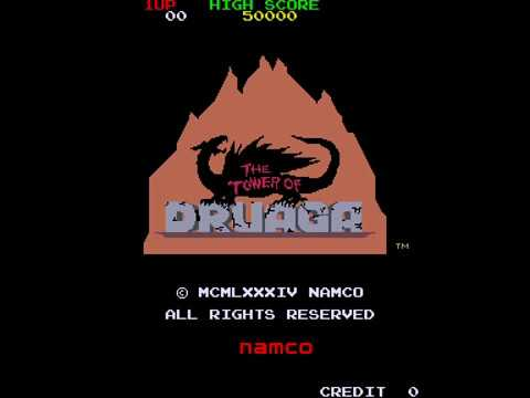 Arcade Longplay [858] Tower Of Druaga