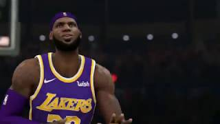 NBA 2K20 LeBron & Davis VS Los Angeles Clippers - Opening Game!