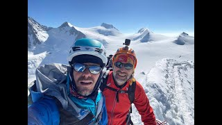 Spacer po lodowcu Monte Rosa 28-30 lipca 2020