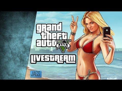 LIVE - AMD RYZEN 1800X Review Livestream | GTA 5 Online