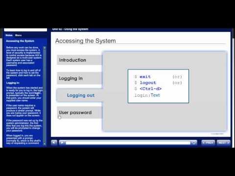 AIX Basics (WBT) Training