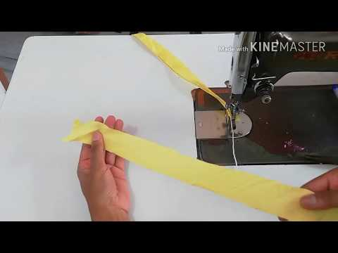 दो तरह की डोरी वाली Piping बनाने का सबसे आसान तरीका/two Ways Of Making Dori Piping