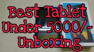 Best Tablet Under Rs.5000 : Unboxing (Lenovo Tab 3 7 Essential 8GB , Wi-Fi)