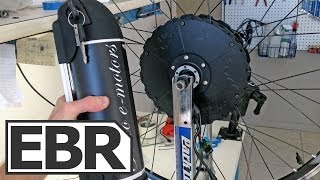Falco Motors Hx 500 Video Review - Electric Bike Kit with Motor, Battery and Wireless Computer