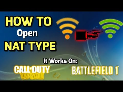 HOW TO Open NAT TYPE On PS4 - WORKS 100% -AnisGoneCrazy