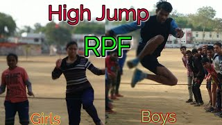 RPF#High Jump Practise  For Boys and Girls