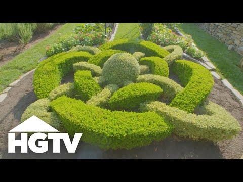 Garden Tours | Riverfront Rose Garden - HGTV