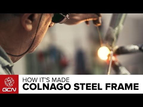 How A Colnago Steel Frame Is Made