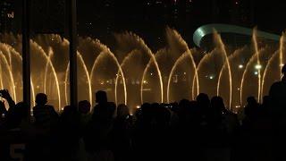 The Dubai Mall Water Fountain 2016