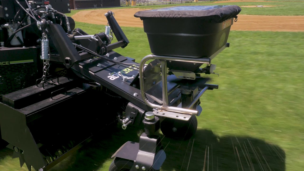 Seed and Fert Spreader - Attachment for the ABI Force Z-23