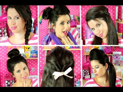 Easy Cute Hairstyles For Teens
