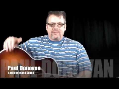 Paul Donovan Playing a Taylor 614ce