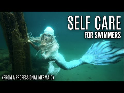 WHAT TO DO AFTER SWIMMING || My Post Swimming Care Routine as a Professional Mermaid || #Mermaiding