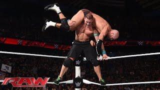 John Cena vs. Cesaro - United States Championship Match: Raw, July 6, 2015