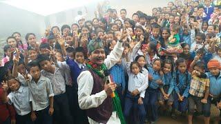 Tkame Buda Wilson Bikram Rai Live Standup comedy n Dance in 2017 at ilam laxmipur Buddha mabi School