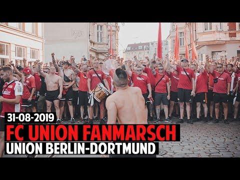 Fanmarsch Union Berlin-Fans | FC Union Berlin - Borussia Dortmund 2019.08.31 | FCU - BVB 3:1