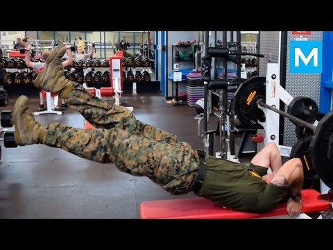 SUPER MARINE or NINJA WARRIOR - Michael Eckert | Muscle Madn