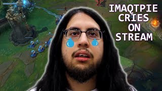iMAQTPIE Cries On Stream | BOXBOX Trolling