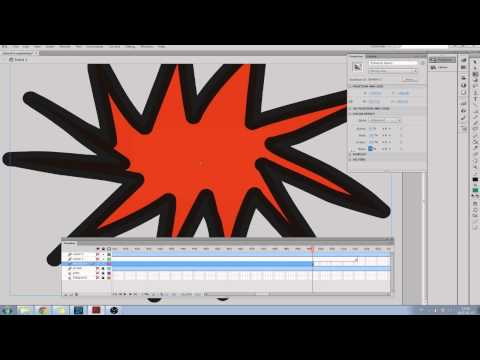 Making a flash animation from start to finish.